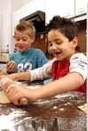 Cocinar con los chicos