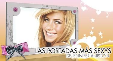 Top Ten: Las portadas de revistas más sexys de Jennifer Aniston