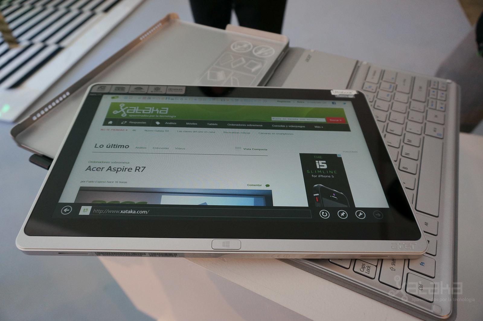 Acer Aspire P3, presentación en NY