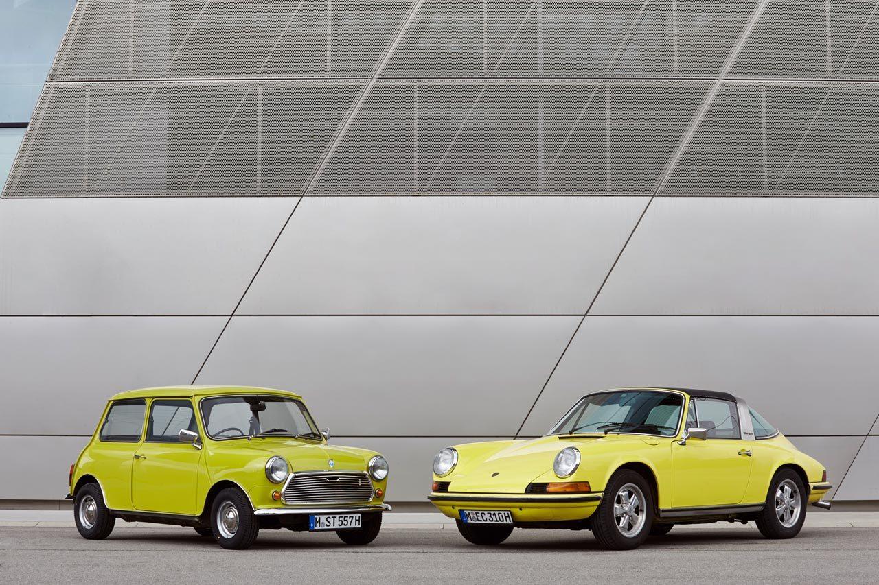 Foto de MINI felicita al Porsche 911 (1/37)