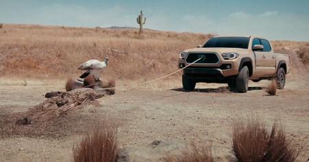 Chuck Norris en el nuevo anuncio del Toyota Tacoma