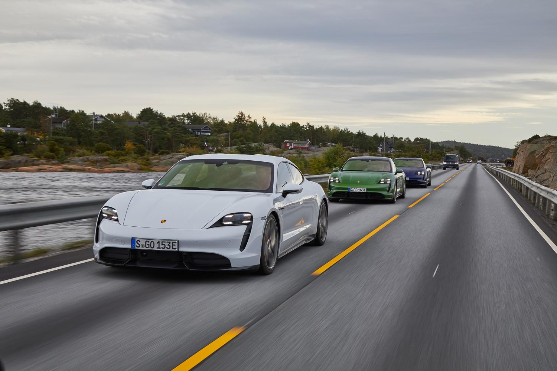 Foto de Porsche Taycan prueba contacto (151/275)