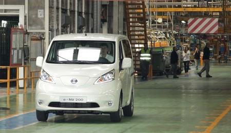 Nissan e-NV200 factoría de Barcelona