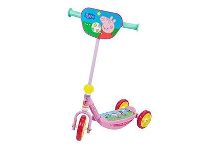 Por sólo 12 euros en Drim podemos hacernos con el  patinete de tres ruedas de Peppa Pig. Envío gratis