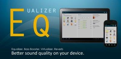 Equalizer, para configurar cómo quieres que suene tu Android