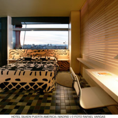 Foto 4 de 9 de la galería hotel-puerta-america-mariscal-y-salas en Decoesfera