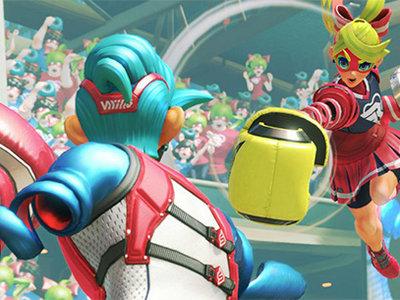 ARMS la nueva IP de Nintendo muestra más de 40 minutos de gameplay