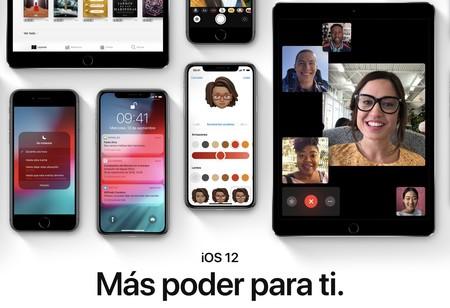 e04785fe555 iOS 12 disponible para descarga: todo sobre la instalación, mejoras y  novedades para iPhone y iPad