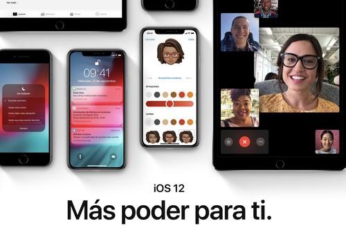 iOS 12 disponible para descarga: todo sobre la instalación, mejoras y novedades para iPhone y iPad
