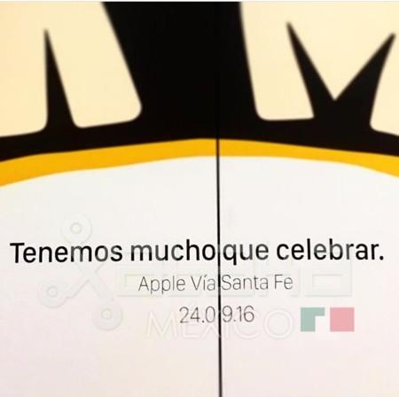 Apple Vía Santa Fe, la primera Apple Store en México, abrirá sus puertas el 24 de septiembre
