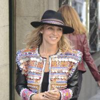 El extraño traje de luces en el que se enfundó Elsa Pataky para pasearse por las calles de Madrid