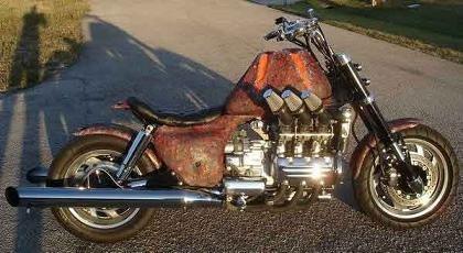 La moto más cutre