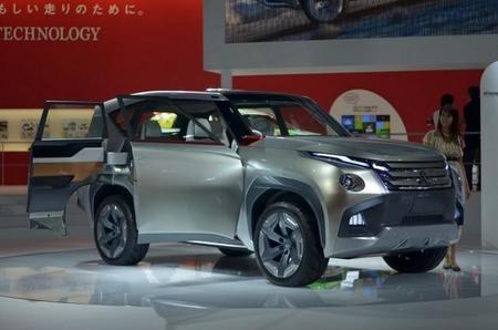 Previsualización del futuro Mitsubishi Montero en Tokio