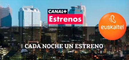 A falta de fútbol, Euskaltel ofrece a sus clientes Canal+ Series y Canal+ Estrenos