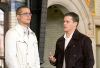 Matt Damon y Brad Pitt en 'Happy Feet 2'