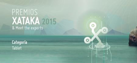 Mejor tablet: vota en los Premios Xataka 2015 [actualizado]
