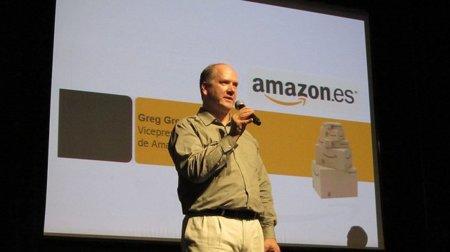 Presentación oficial de Amazon.es por parte de Greg Greely en España, ninguna sorpresa a lo ya visto