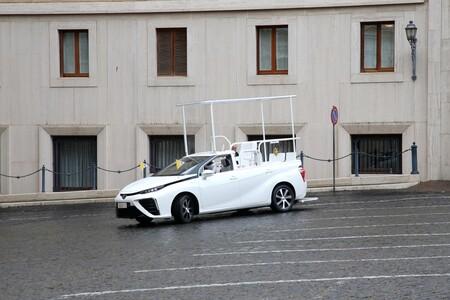 Papamovil Toyota Mirai Hidrogeno