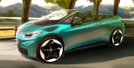 ¡Es oficial! Volkswagen estudia lanzar un Volkswagen ID.3 cabrio, y estas son las primeras imágenes