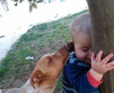 La foto de tu bebé: Gabriel jugando con Tidus