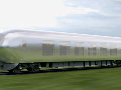 """No es ciencia ficción: Japón trabaja en el primer tren """"invisible"""""""