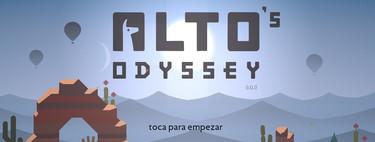 Probamos Alto's Odyssey para Android: la belleza entre dunas del desierto también es relajante