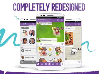 Viber 5.0 para Android estrena las videollamadas y nueva interfaz