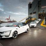 El Honda Clarity Fuel Cell desembarca en Europa por Londres y Copenhague