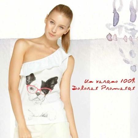 Nueva colección de camisetas de Dolores Promesas para la Primavera-Verano 2014