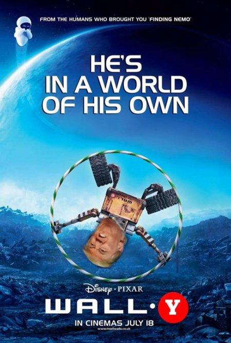 Los carteles de cine con Donald Trump