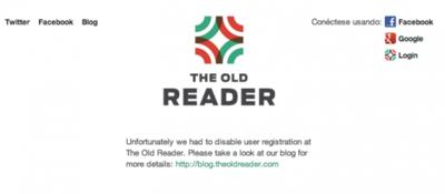 The Old Reader muere de éxito: cierre a la vista excepto para cuentas antiguas
