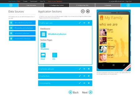 Windows Phone App Studio, portada