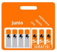 Simyo regala 5 euros al mes en verano por recargar 20 en junio