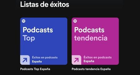 Spotify estrena dos listas de éxitos sólo para podcasts