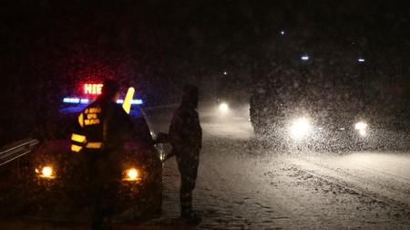 Así evoluciona la 'Bestia del Este' en España: 279 carreteras afectadas por la nieve, 23 de ellas cerradas