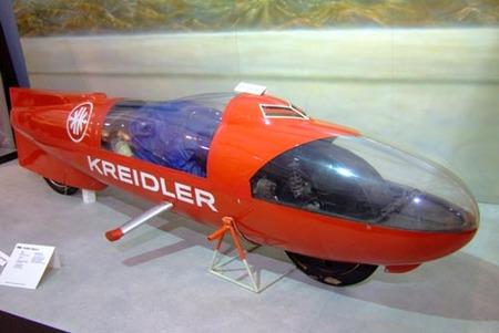 Kreidler 50cc, récord mundial de velocidad en 1965