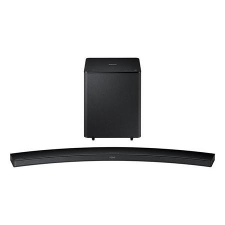H7500 barra de sonido curva de samsung