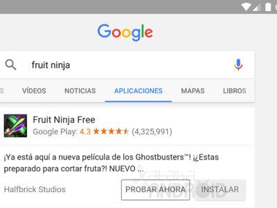 Play Store también nos permitirá probar los juegos sin instalarlos como ya hace la aplicación de Google