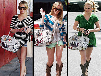 Las celebrities y sus obsesiones: Hilary Duff y su fairy bag de Prada
