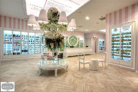 Diseño de interiores: es una farmacia, es una perfumería. Y está en Estambul