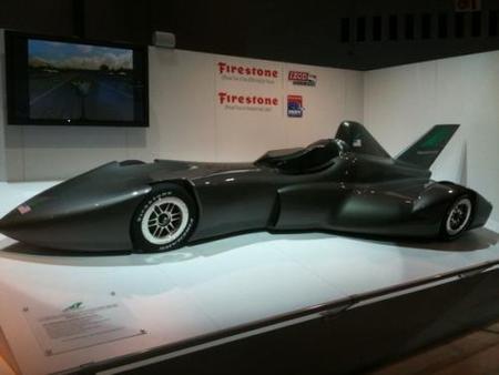 DeltaWing Racing presenta su visión para las IndyCar Series en 2012