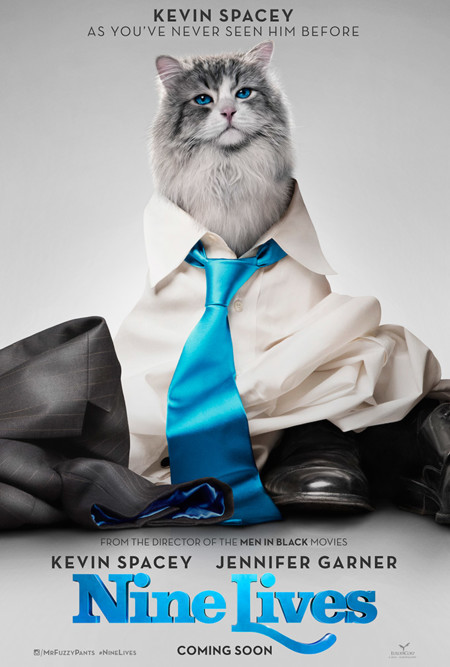Cartel de Nine Lives