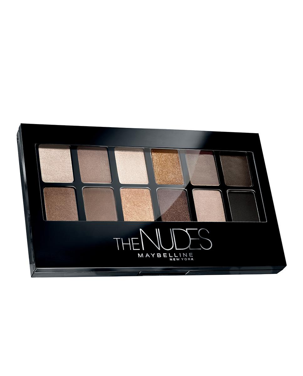 Paleta de sombras The Nudes Maybelline