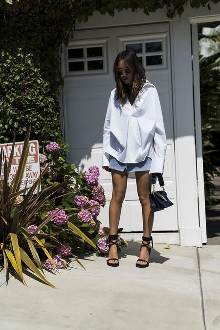 Minifalda Denim Combinarla Verano 06