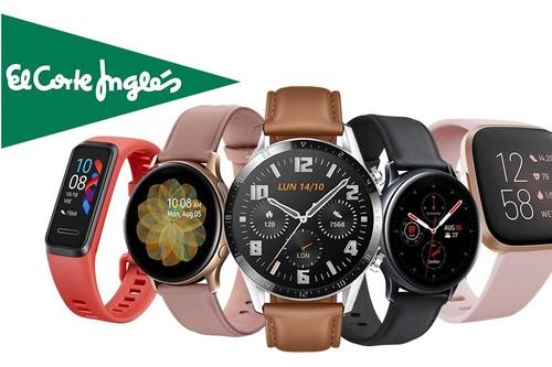 Para salir a hacer deporte o para regalar el Día de la Madre, El Corte Inglés tiene ofertas en relojes inteligentes y pulseras deportivas con hasta un 30% de descuento