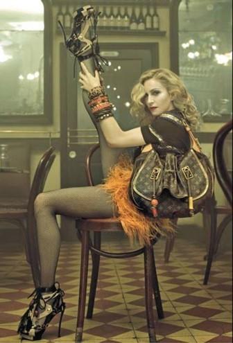 Madonna prefiere los zapatos a los hombres