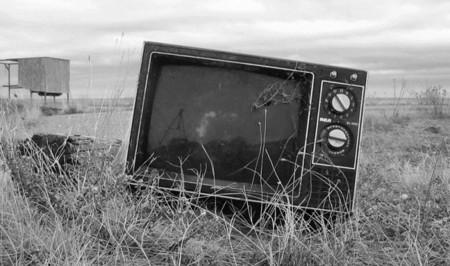 Televisión tirada