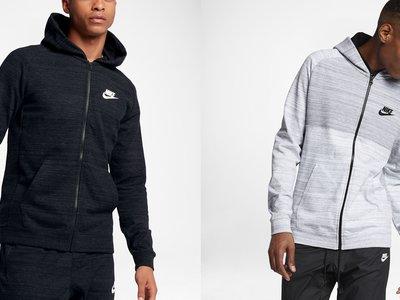 Las sudaderas Nike Sportswear Advance 15 en negro y blanco cuestan 44,97 euros gracias a una oferta Flash de Nike