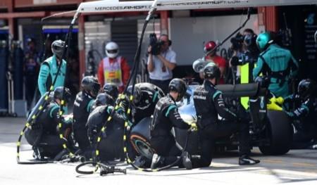 Pit Stop Mercedes