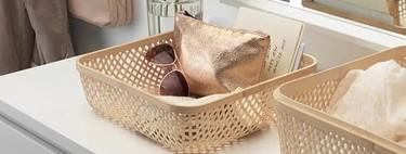 Descubrimos en el catálogo de Ikea 2021 las cajas y cestas más bonitas para mantener el orden